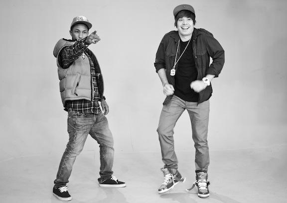 Pharrell & Jimmy Fallon