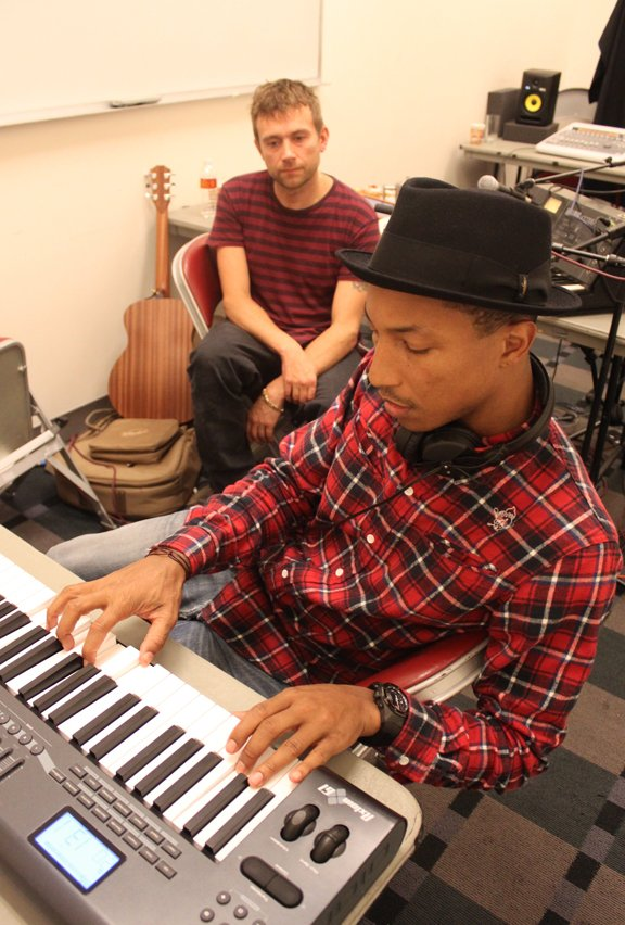 Pharrell Williams e Albarn