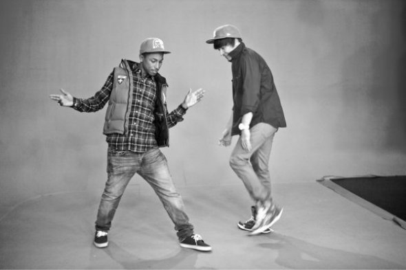 Pharrell Williams & Jimmy Fallon