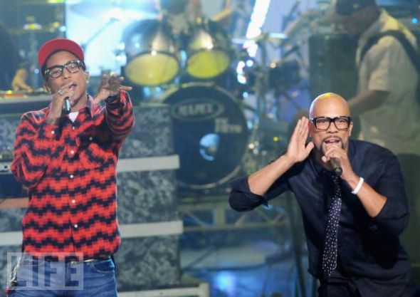 Pharrell Williams & Common