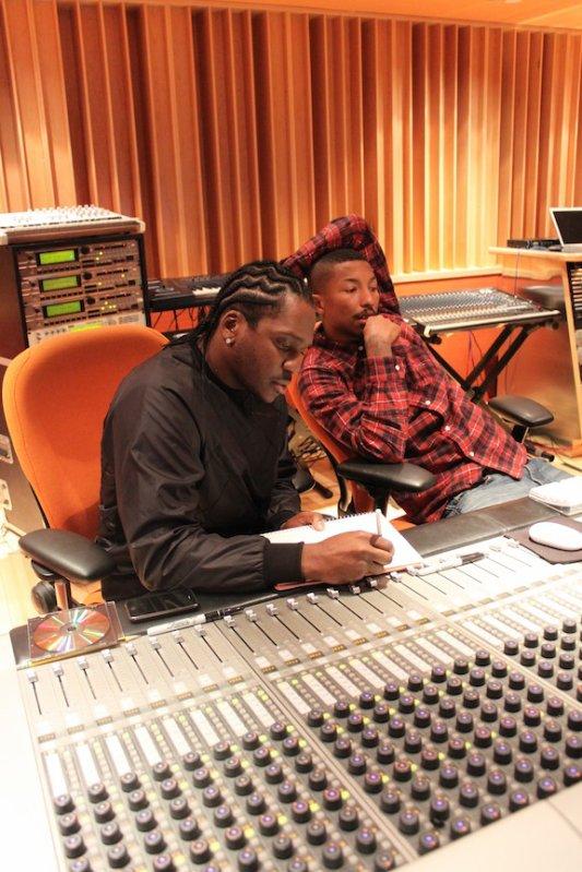 Pusha & Pharrell No Estúdio