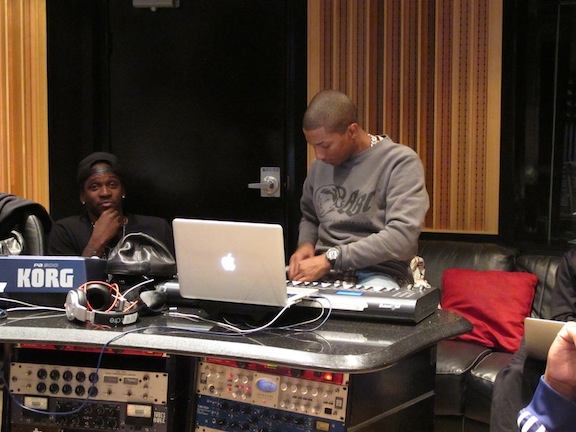 pusha-rob-walker-shae-liva-estudio-pharrell-williams-brasil-3Rob Walker Pharrell